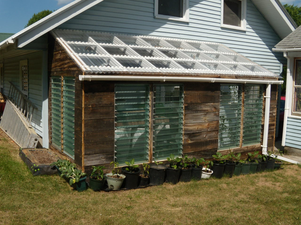 The Magic Greenhouse: How to Make a Cheap Greenhouse