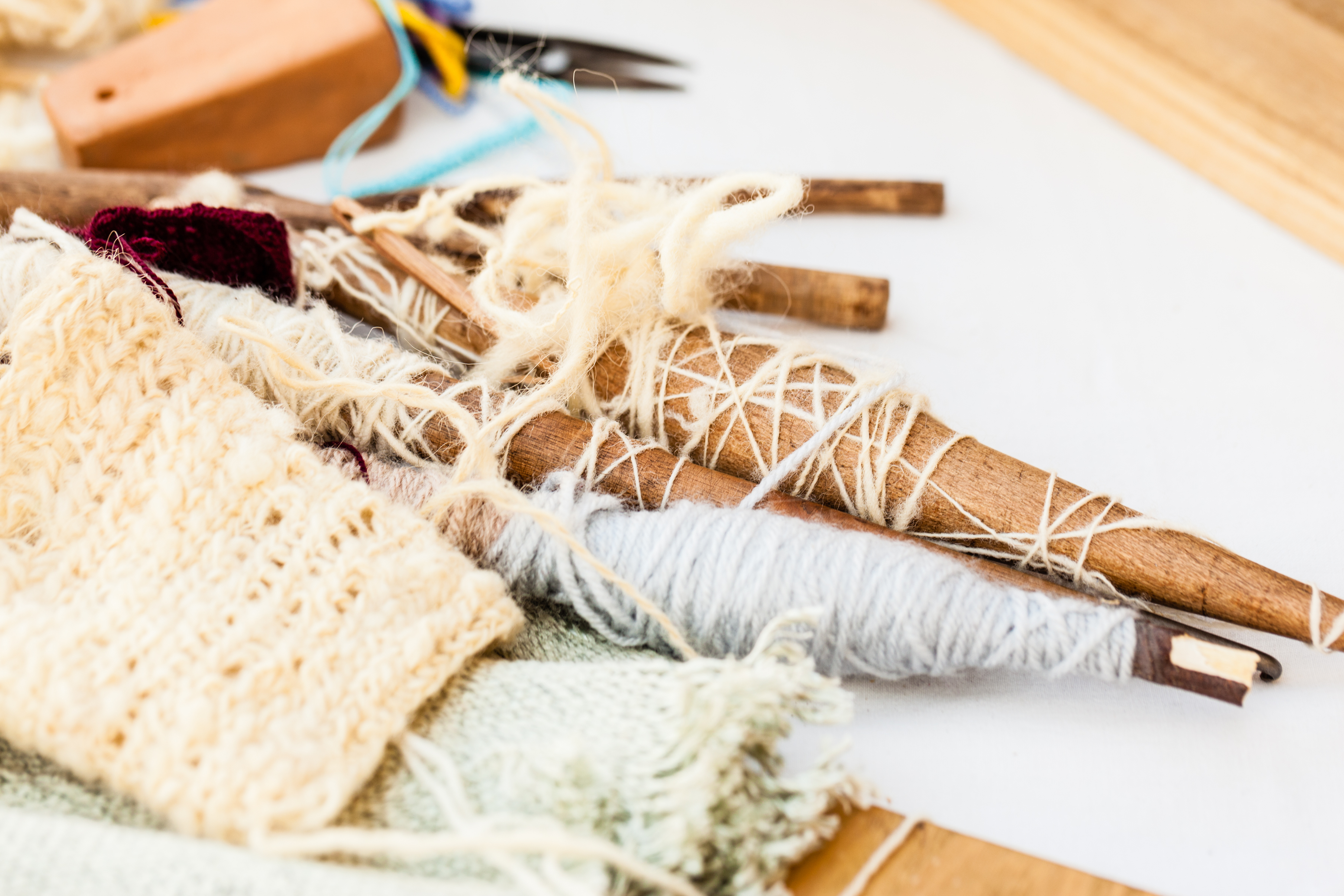 Why Teach Classes on How to Knit, Spin, Weave or Felt