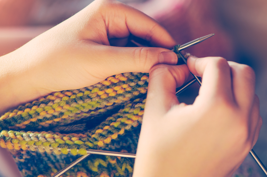 How to Knit Socks with 4 Needles