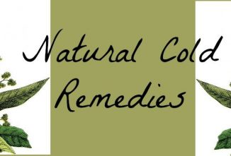 A Guide to Natural Cold Remedies