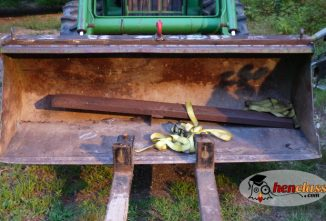 How to Weld on Tractor Bucket Hooks for Additional Utility