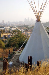 The ancient tipi cools naturally because of the Venturi Principle.
