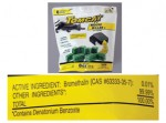 Modern second-generation rodenticide, Bromathalin, has no antidote—great for mice and rats—bad for any animals that eat mice and rats. Bromathalin is sold under the brand names Tomcat, d-Con, Hot Shot, Generation, Talon, and Havoc.