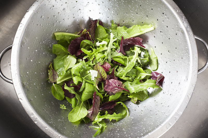 Store Salad Greens for Later Use
