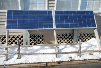A Simple Solar Electric Backup System