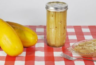 An Old Fashioned Mustard Pickles Recipe