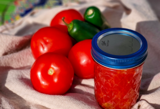 DIY Rotel-Style Tomatoes and Fish House Relish