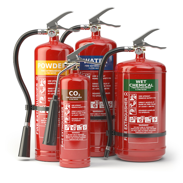 Different Types of Fire Extinguishers and Their Uses